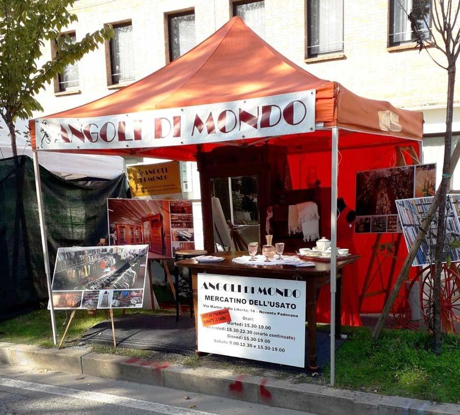 Aperture straordinarie al mercatino di Noventa Padovana