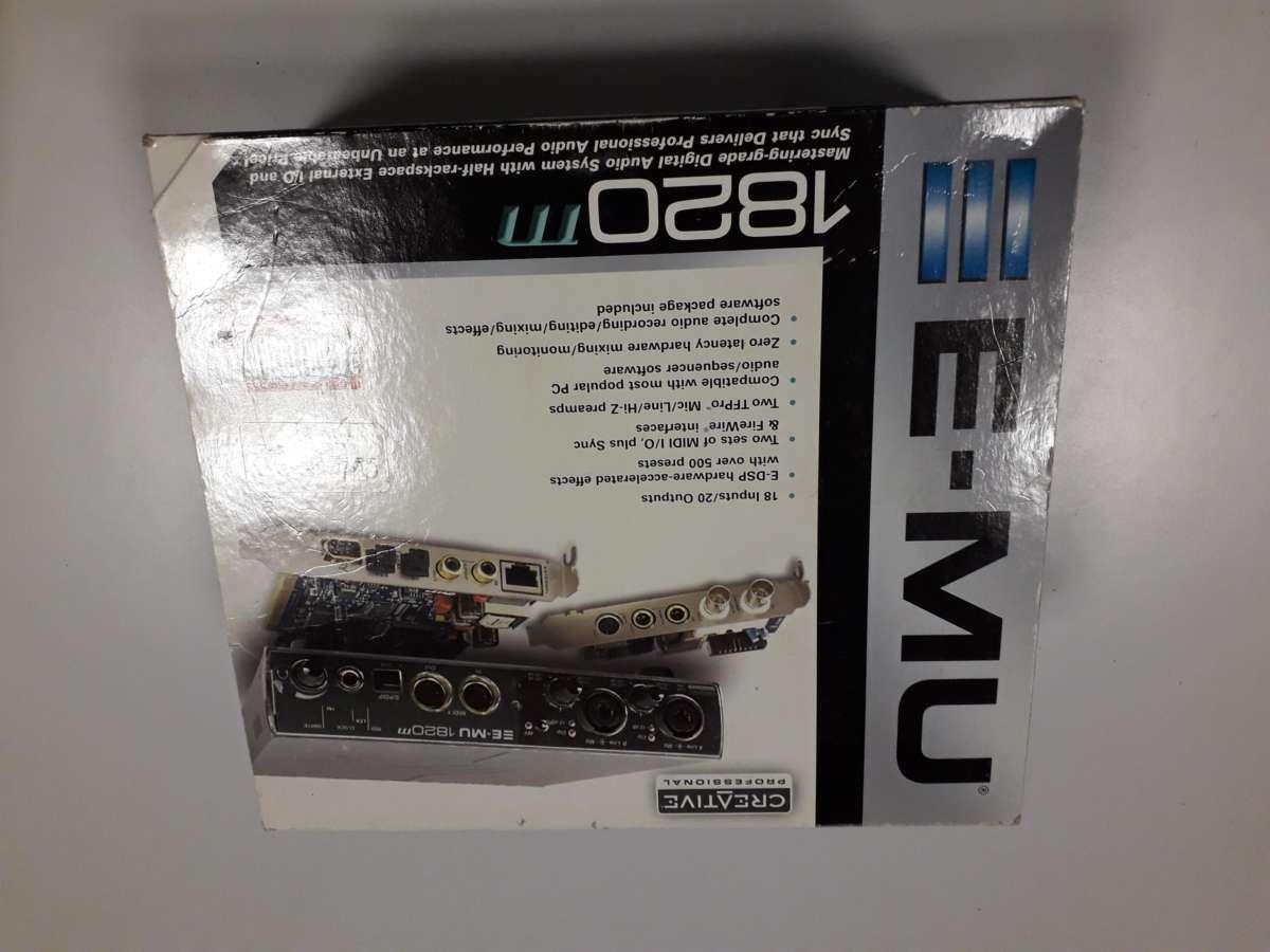 Scheda Audio E-MU 1820m