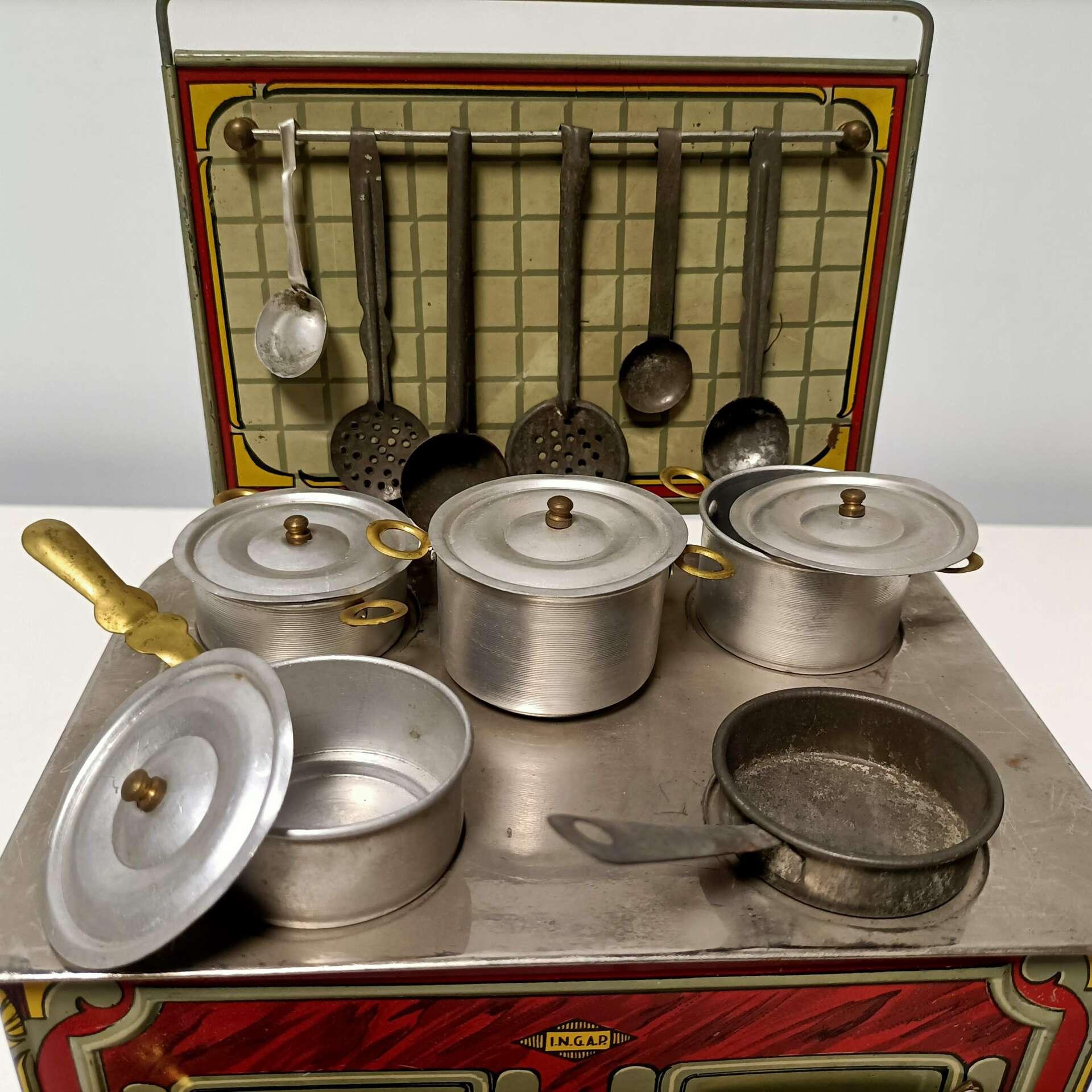 cucina giocattolo vintage