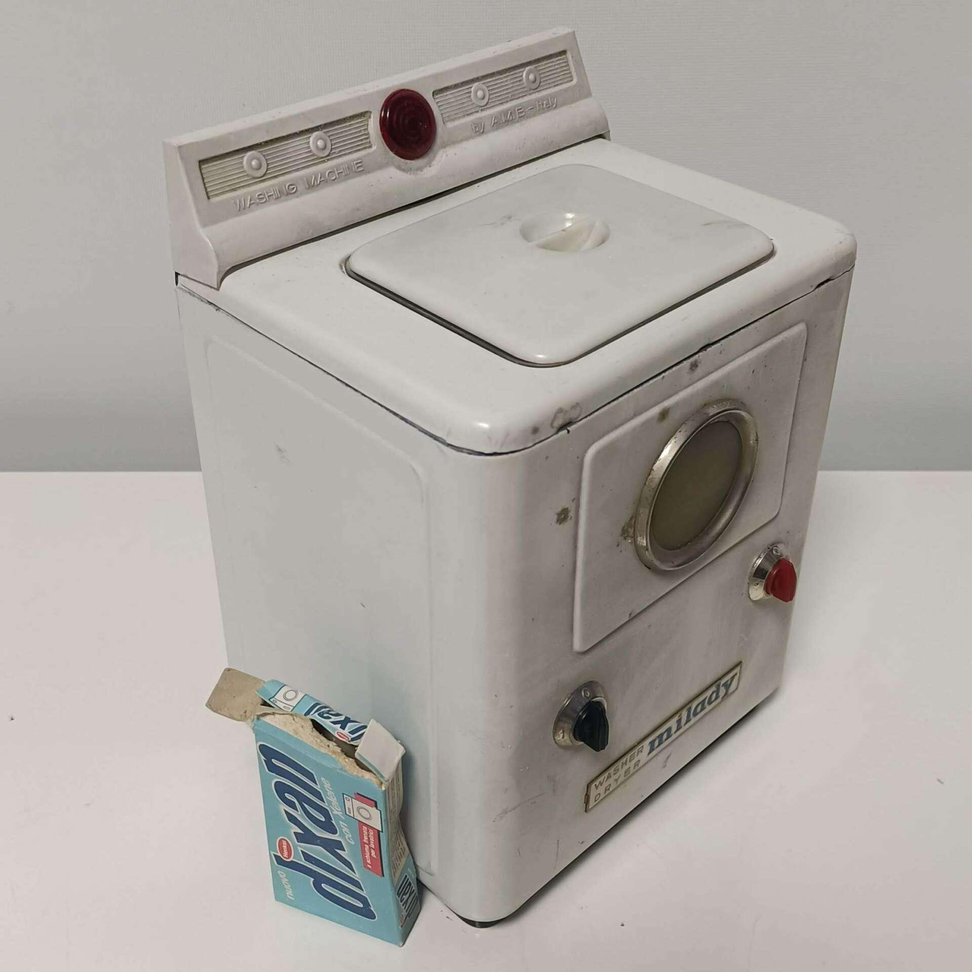 lavatrice giocattolo vintage