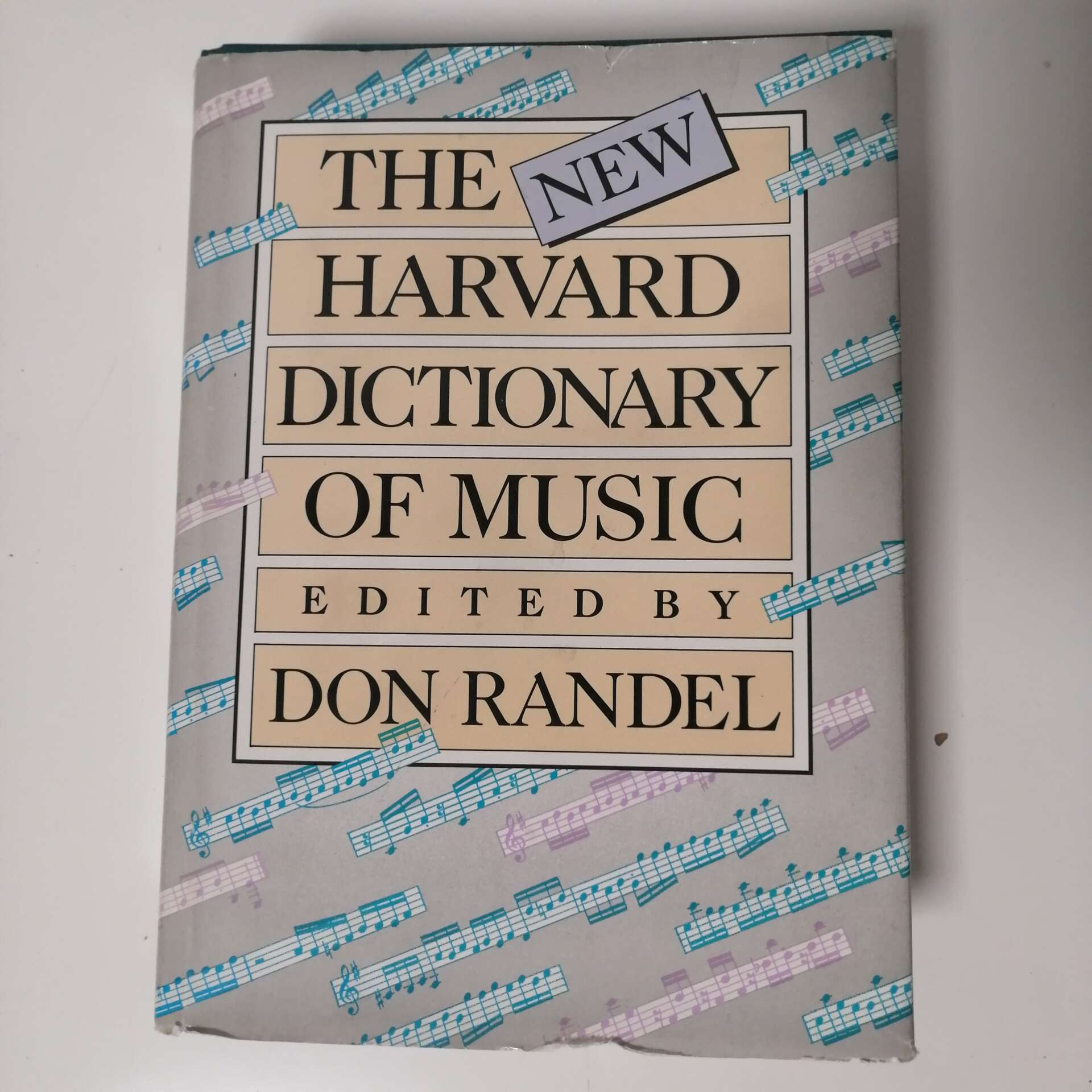 Harvard dictionary of music