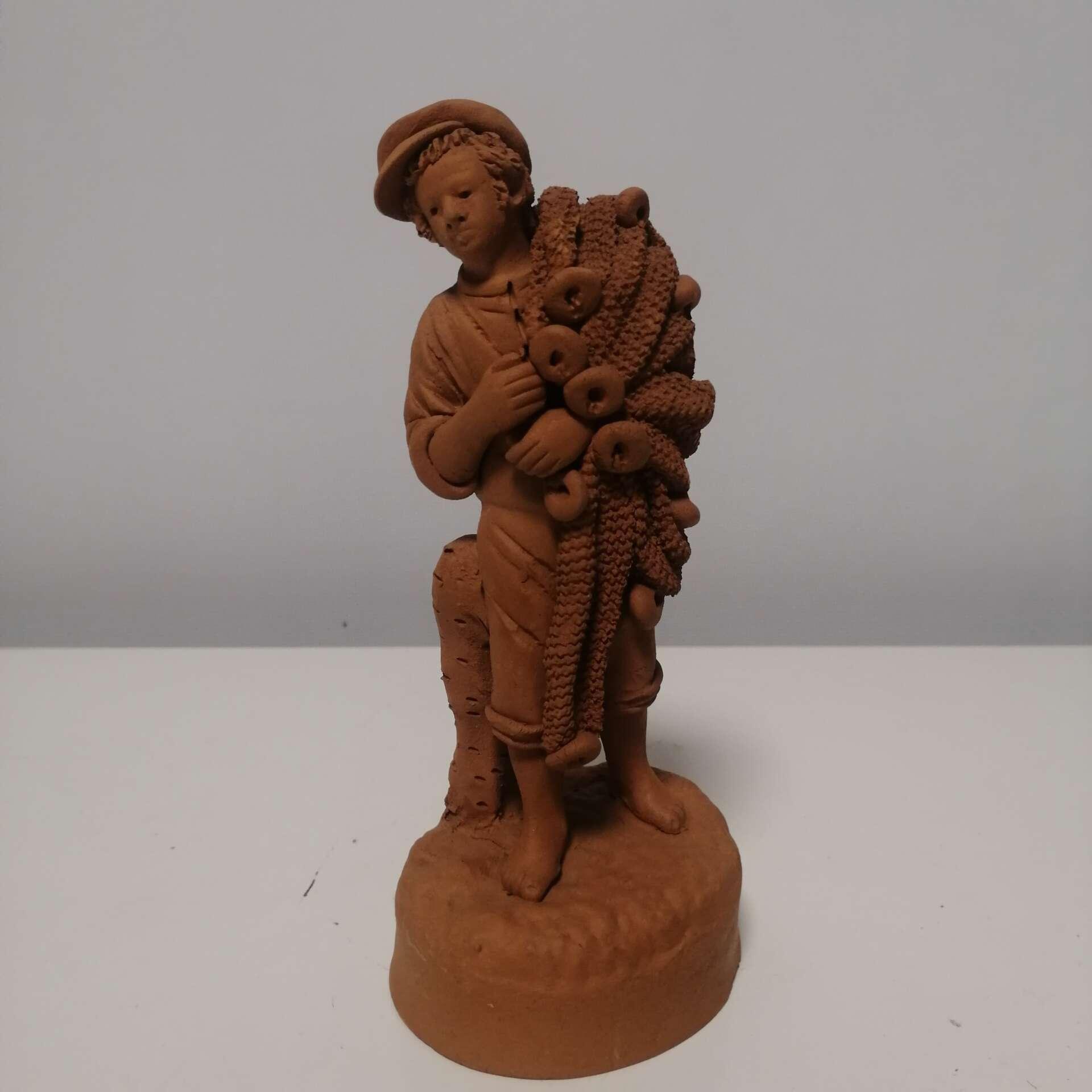 Statuette in terracotta