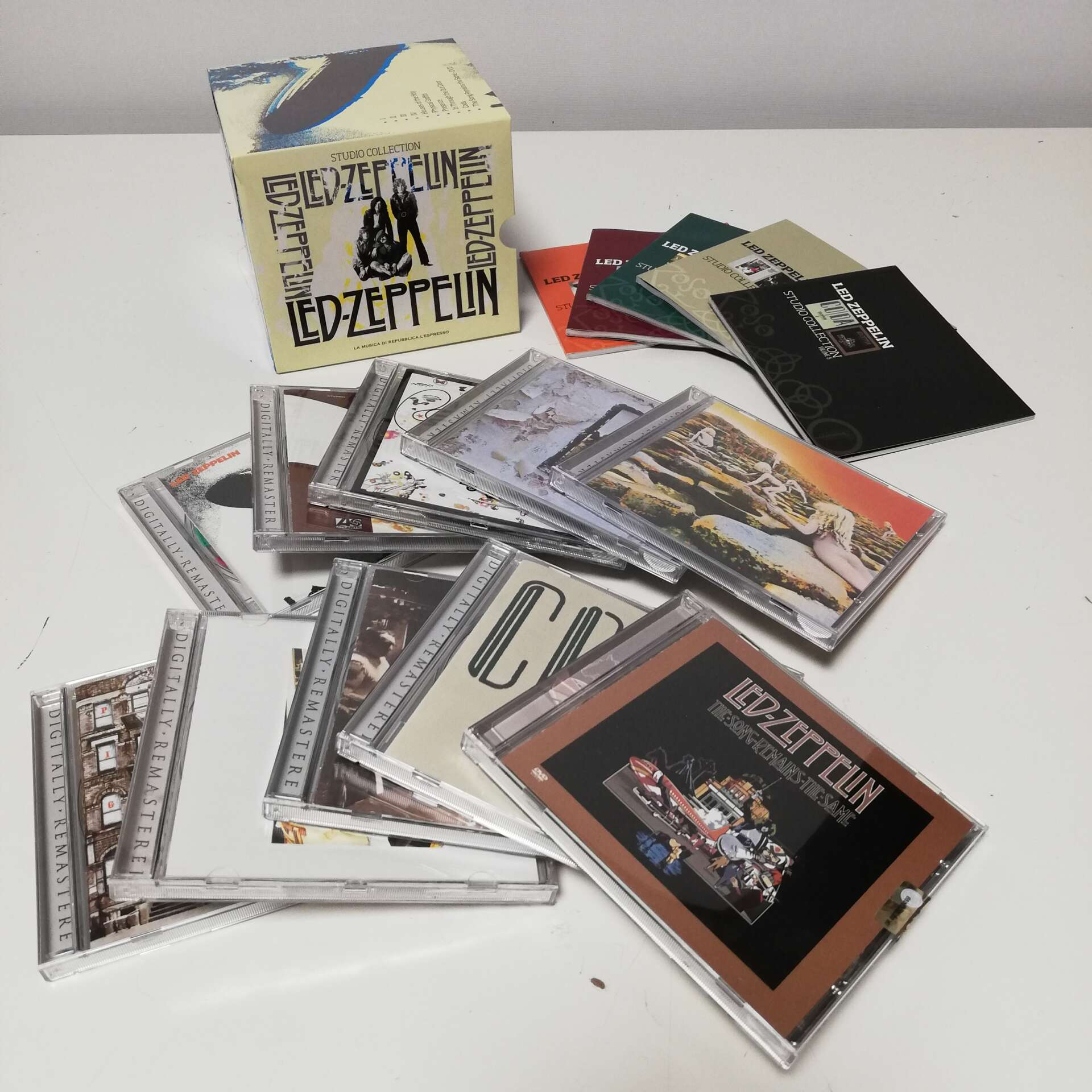Cofanetto CD Led Zeppelin