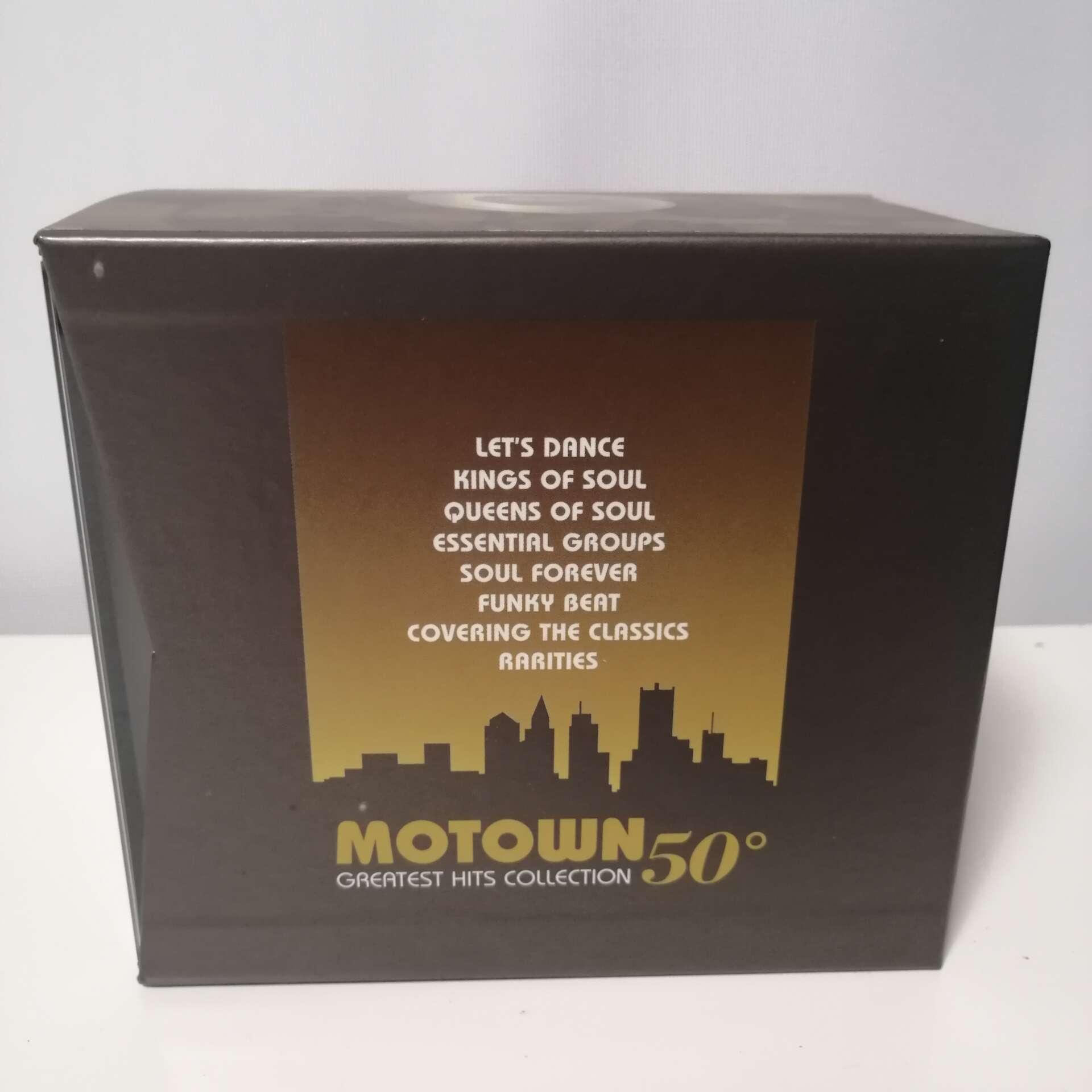 Cofanetto CD Motown