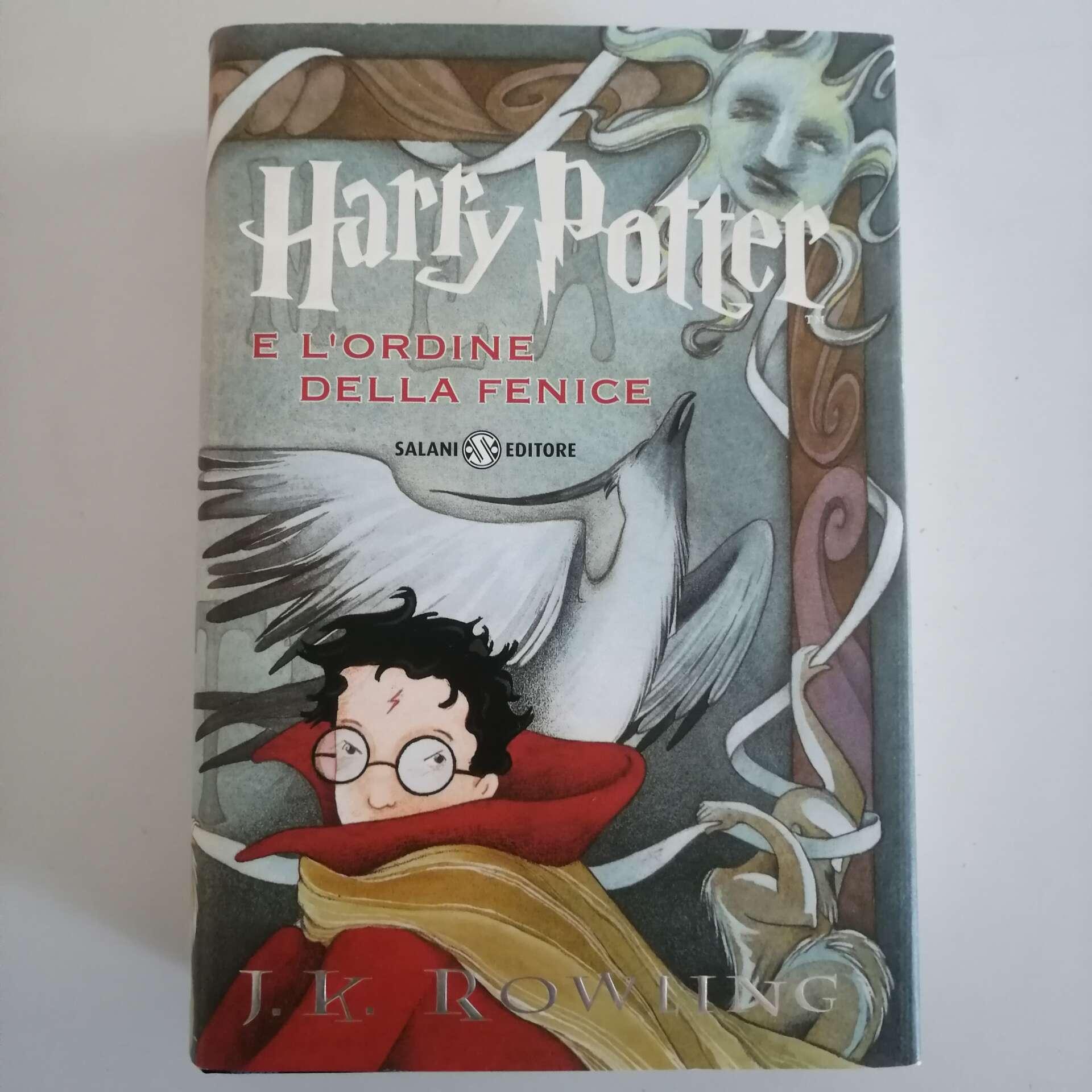 Libro Prima Edizione Harry Potter e l'Ordine della Fenice