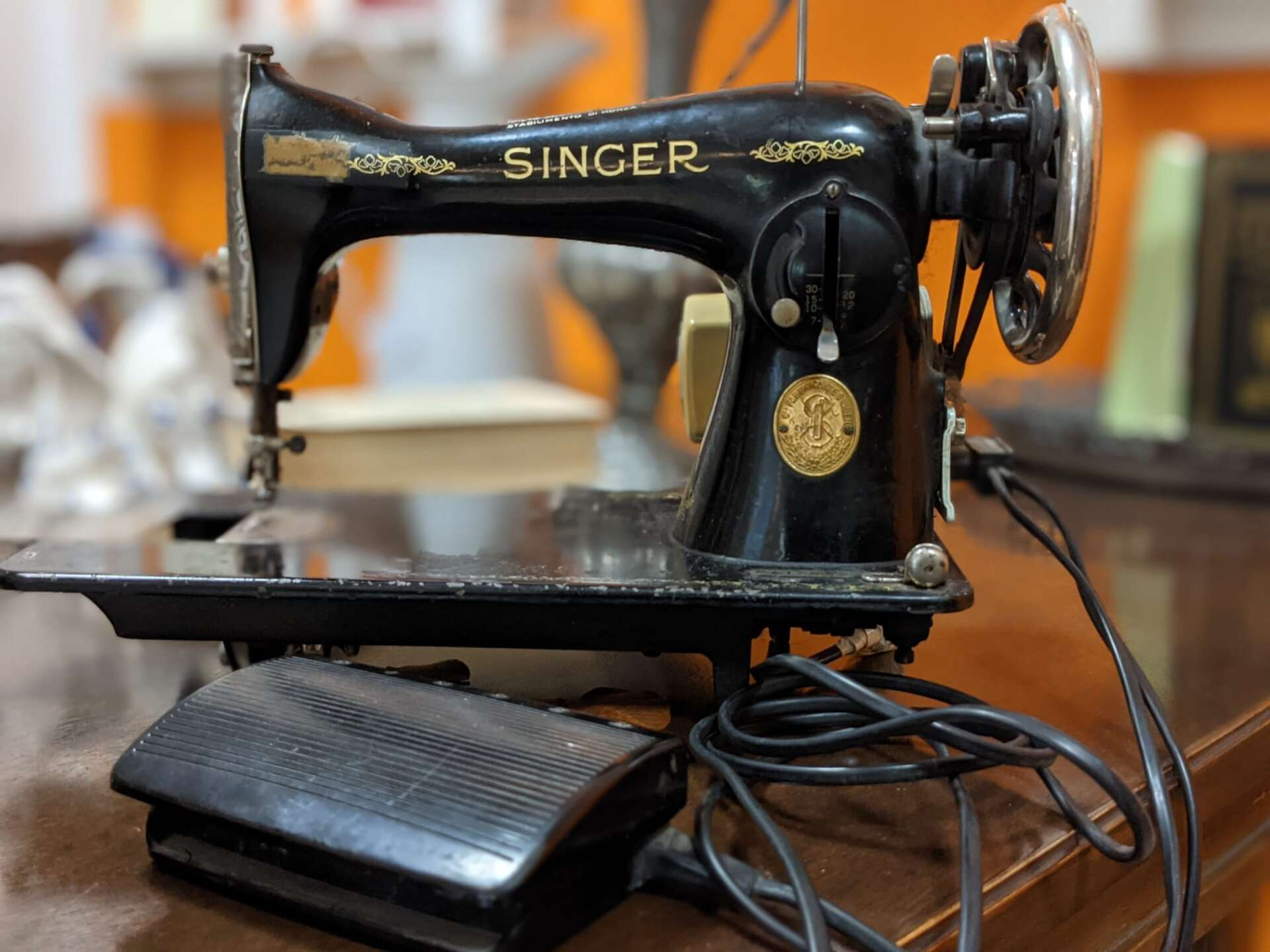 macchina da cucire Singer