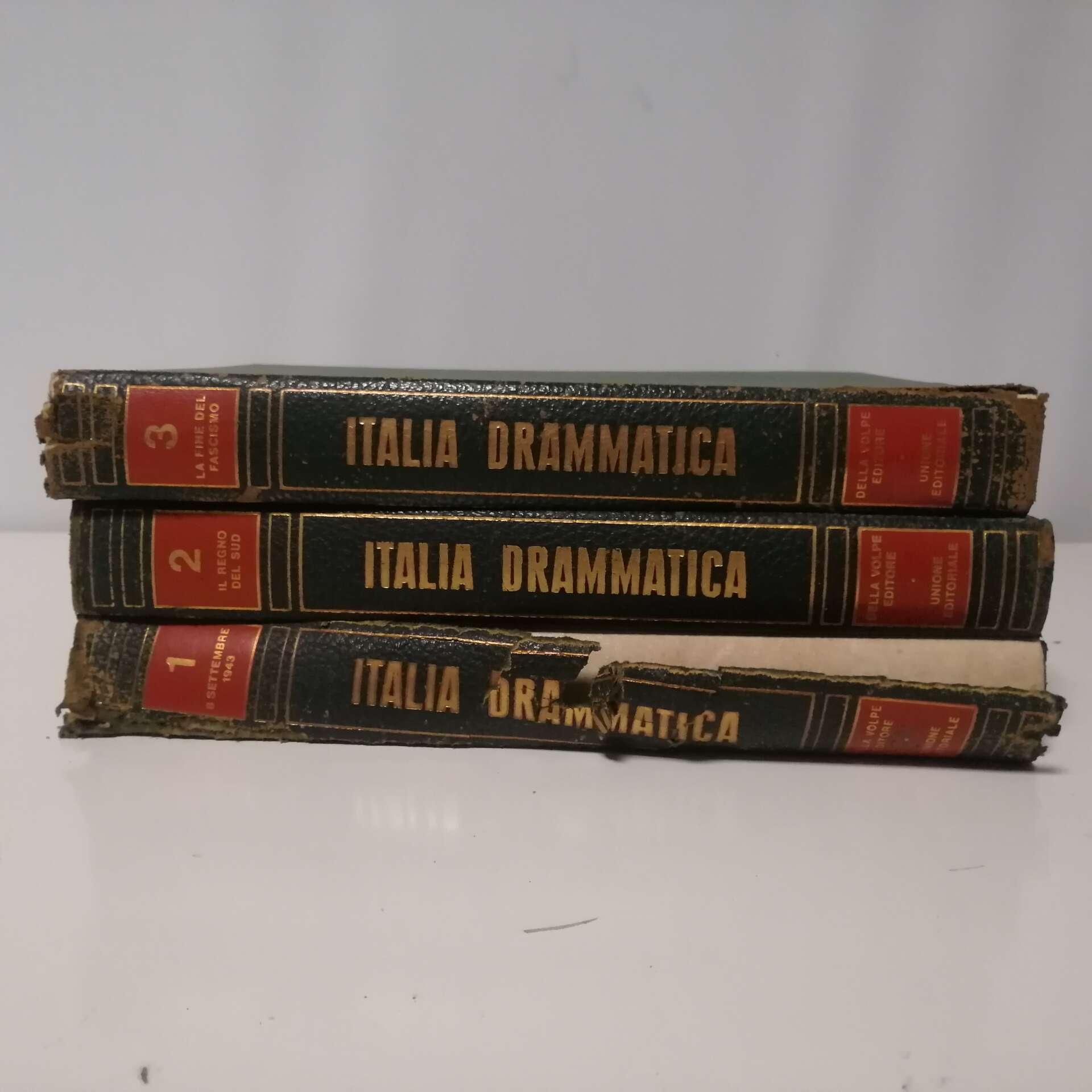 italia drammatica 3 volumi